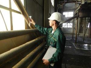 Проведение мониторинга технического состояния строительной конструкции здания