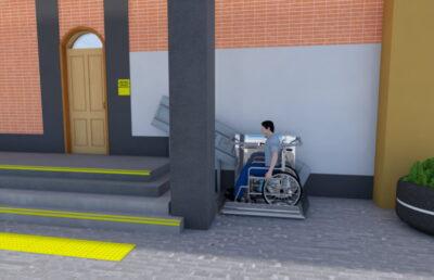 Проект доступности входа для МГН